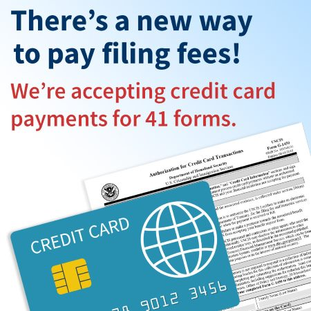 Uscis Streamlines Applications By Accepting Credit Card Payments
