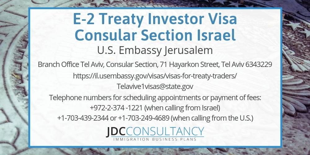 The E2 Visa Israel is now available! Israel E2 is a Game